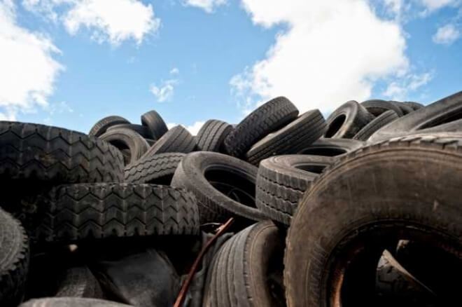 Be wary of purchasing used tires; you don't know where they've been!