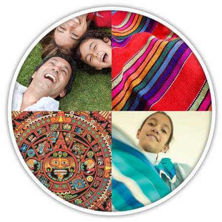 Collage of Hispanic Culture
