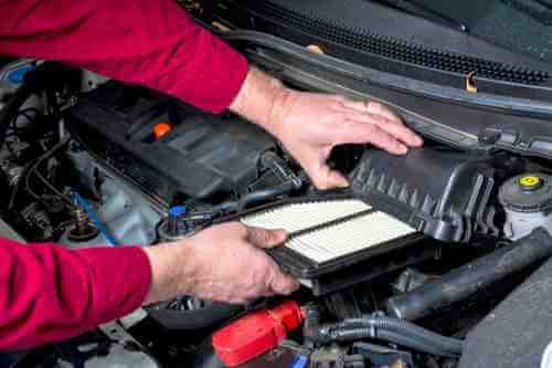 Changing your car's air filter