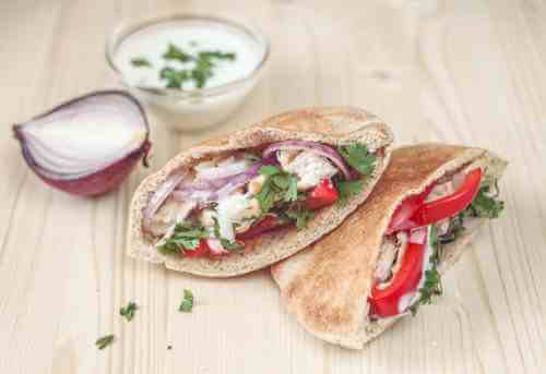 Chicken salad pita recipe