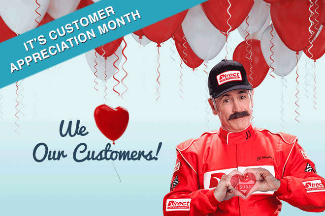 Direct Auto Insurance | Customer Appreciation Month | 2016