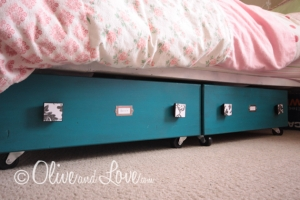 drawer underbed storage
