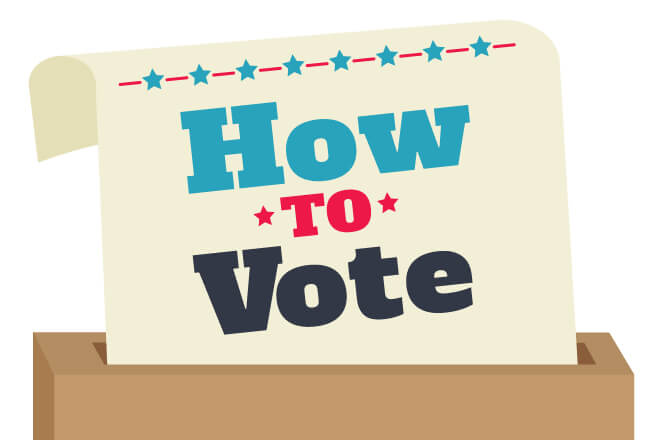 how to vote blog