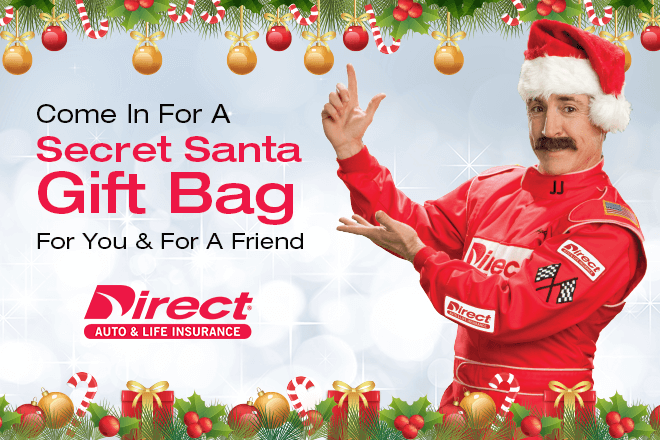 Come in for a secret santa gift bag for you and a friend