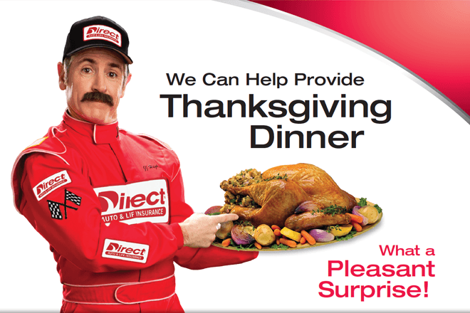 We can help provide Thanksgiving dinner!