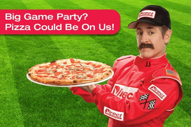 Big Game Party? Pizza Could Be On Us!
