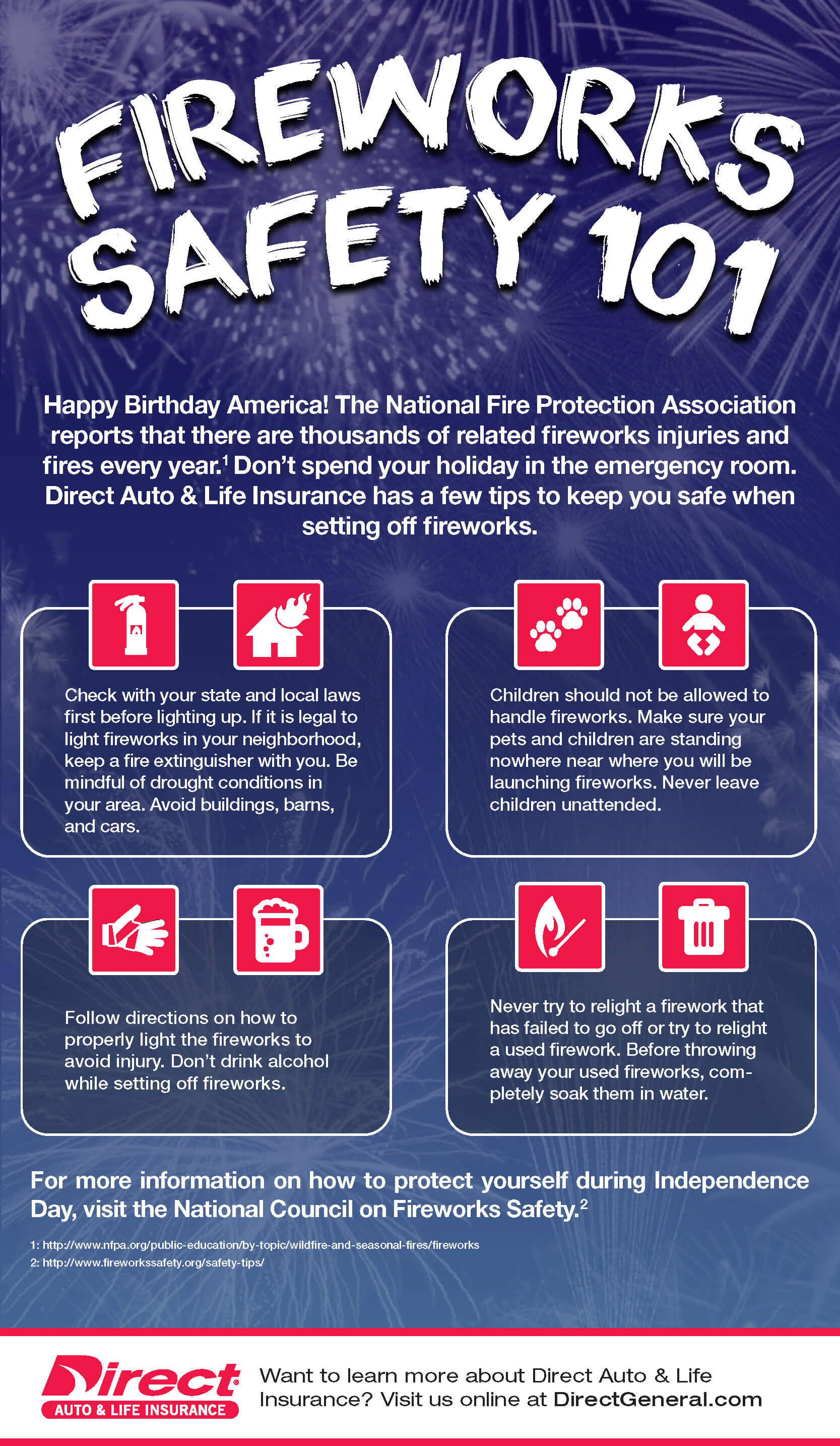 Stay safe setting off fireworks with these easy tips
