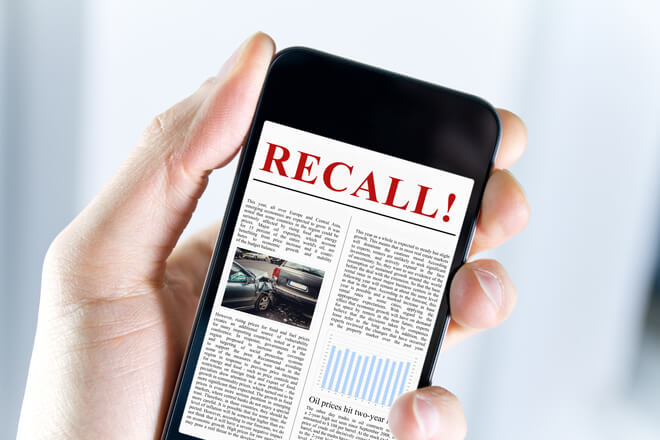 Find out the latest car recalls wherever you go!