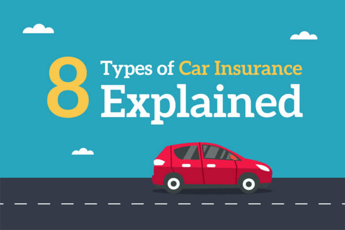 Types of car insurance explained, red
