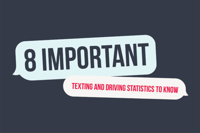 8 important texting and driving statistics to know.