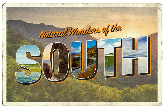 Natural Wonders of the Southern USA