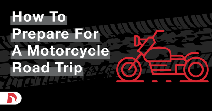 How to Prepare for a Motorcycle Road Trip