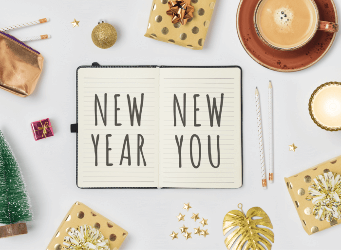 New year new you notebook
