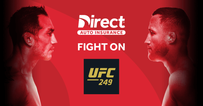 Direct Auto Insurance UFC 248 Sweepstakes