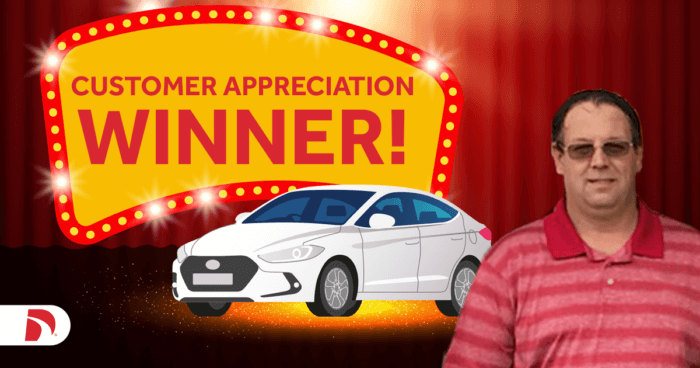 Get Direct Get Going Car Sweepstakes Winner