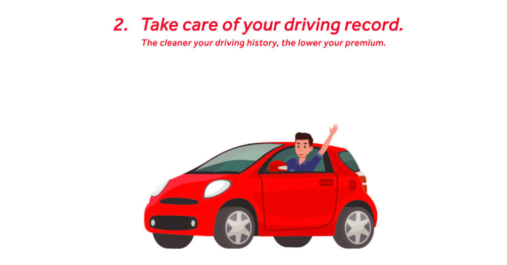 Take care of your driving record.