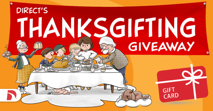 Direct's Thanksgifting Giveaway 2021